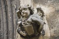 Weathered Stone Angel