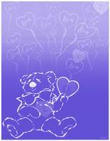Ballooning Love Bear
