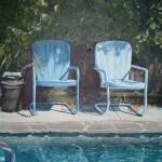 """Poolside Chairs"" by LeeHubenthal"