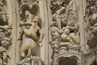 Carvings at Notre Dame Cathedral