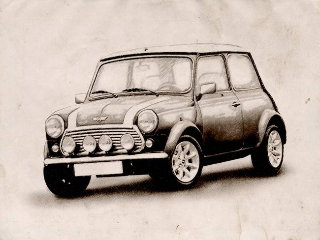 Drawing Classic Car Artwork For Sale On Fine Art Prints