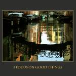 """I Focus on Good Things Venice Canal Affirmation"" by DonnaCorless"