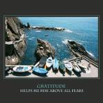 """Gratitude Helps Me Rise Above All Fears Affirmatio"" by DonnaCorless"