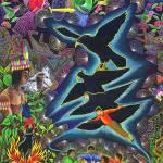 """Transformacion del Chaman en Aguila"" by Ayahuasca_Visions"