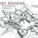 """Fort Manoel, Malta"" by MilitaryArchitecture"