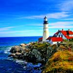 """Portland Head Light in Maine"" by New-Yorkled"