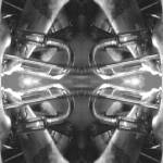 """Horns-A-Plenty - The Groovyal B/W Series"" by Groovyal"