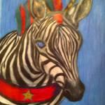 """""""Christmas Zebra"""" by RAW92"""