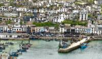 Brixham harbour art