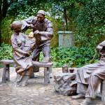 """Barber Statues, Hangzhou China"" by jamesomedia"