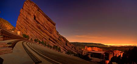 Red Rocks Amphitheatre at Night, CO