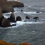 """Rocks at Point Bonita"" by GDada"