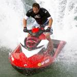 """Splash - Jet Skier hits the waves"" by Paul_Rumsey"