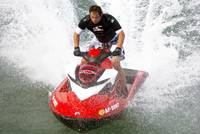 Splash - Jet Skier hits the waves