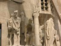 Sagrada Familia: The Judgement of Jesus