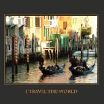"""I Travel The World Venice Italy"" by DonnaCorless"