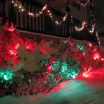 """Christmas snow on Christmas lights"" by catalyst"