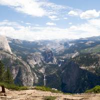 Half Dome view in Yosemite Park Art Prints & Posters by Graham Padmore