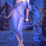 """""""Angel in Blue No. 2"""" by bedrickart"""