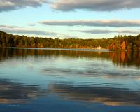 Walden Pond: The Fall Sky