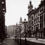 """Palace Hotel from Montgomery St. c1880"" by worldwidearchive"