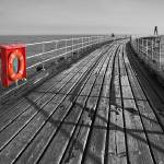 """Along Whitby Pier"" by StephenIK"