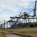 """""""Tilbury Container terminal"""" by chris-roe"""