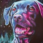 """Black Lab"" by Morianart"