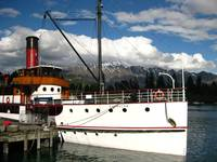 Earnslaw on Lake Wakatipu