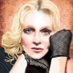 """Melissa Totten as Madonna"" by leafscott"