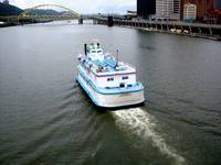 Boat on Allegheny River