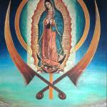 """Lady Of Guadalupe and Kanda"" by SikhPhotos"