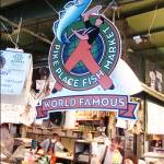 """Pikes Market World Famous Fish Market"" by BoMcNair"