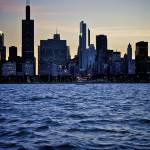 """Chicago Glistens"" by NicoleYeary"