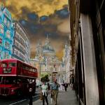 """Ludgate Hill towards St. Paul"