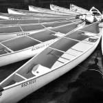 """Whistler Canoes 963 BW"" by RandallNyhof"