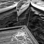 """Whistler Canoes 0970 BW"" by RandallNyhof"