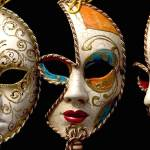 """Ladies masquerade masks. Venice."" by OJPHOTOS"