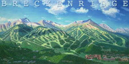 Breckenridge in Summer with Title