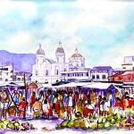 """Market - Ecuador"" by eacolors"