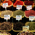 """Selection of spices. The Spice Bazaar, Istanbul, T"" by OJPHOTOS"