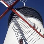 """Old windmill. Gudhjem, Bornholm, Denmark."" by OJPHOTOS"