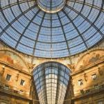 """architectural Symmetry:The roof at Galleria Vittor"" by OJPHOTOS"