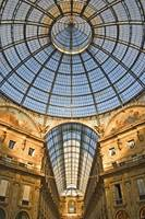 architectural Symmetry:The roof at Galleria Vittor