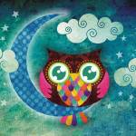 """My Crescent Owl"" by sandygrafik_arts"