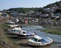 Looe Bridge at Low tide