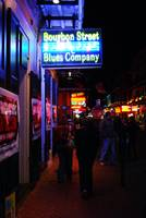 Bourbon Street by Night