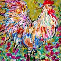 Italian Rooster Art Prints & Posters by Darlene Copeland Bevill
