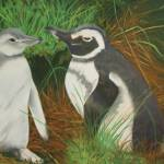 """Two Penguins"" by joanne_tucker"