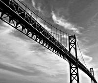 Mt. Hope Bridge In Bristol Rhode Island